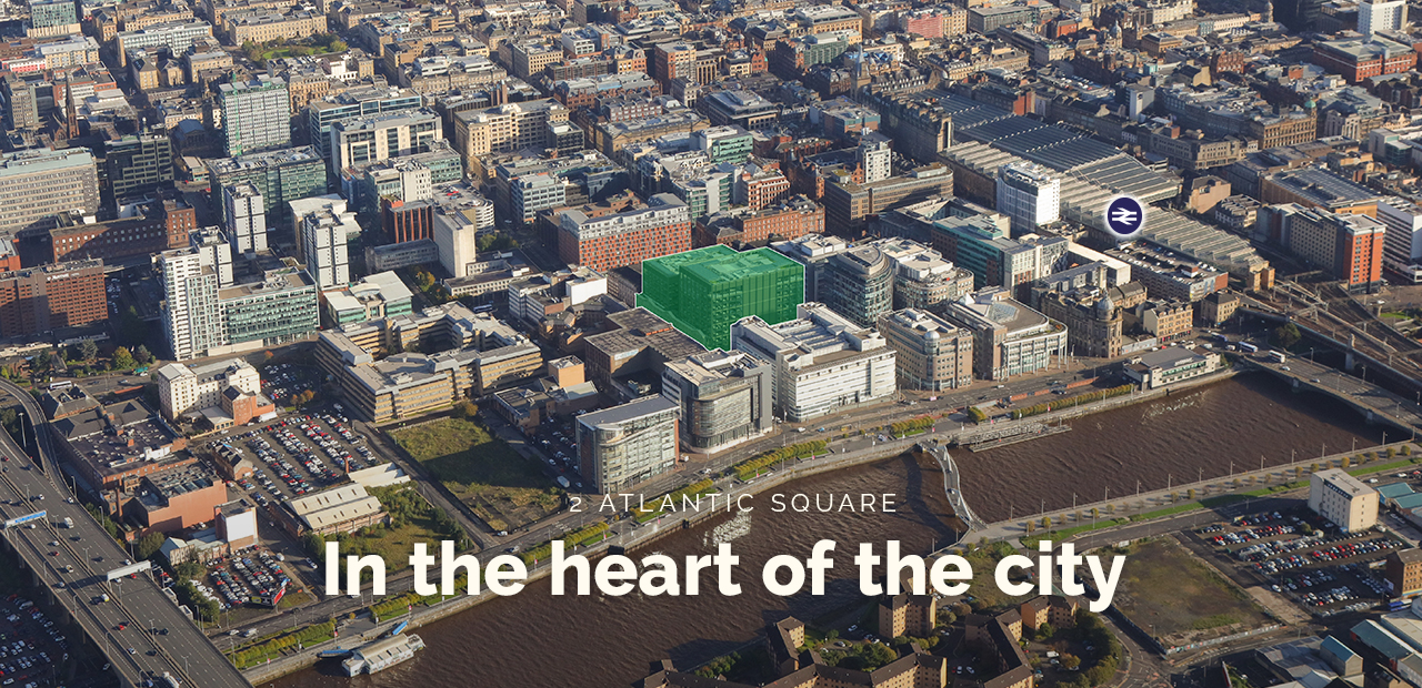 2 Atlantic Square aerial CGI